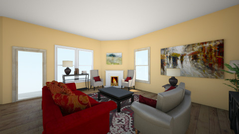 remake - Living room - by and_sew_on
