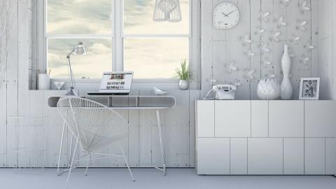 White wire - Office - by Liu Kovacova