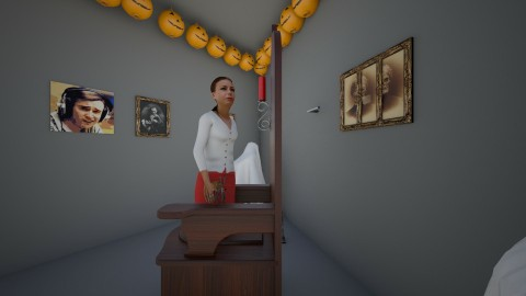 Funny haunted room - by mcgregab000