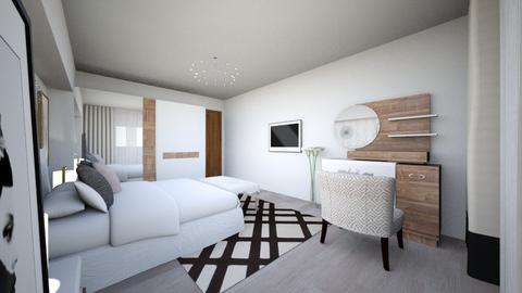 bedroom 1 - Minimal - Bedroom - by Vasile Bianca Rozalia