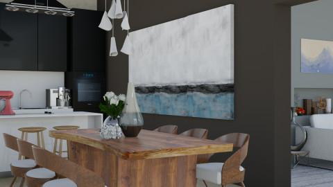 LAMINGTON House_Kitchen - Modern - Kitchen - by ayu DR