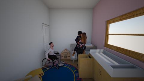 nursery - Kids room - by izzyluck18