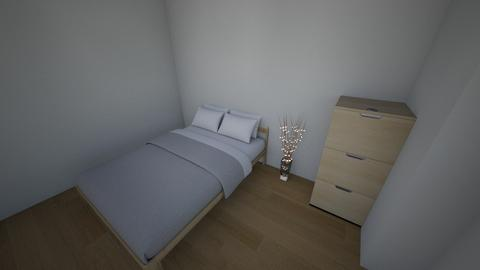 my room    close to IRL - Minimal - Bedroom - by SebasCZ2002