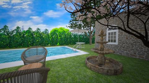 yard ofthe country house - Garden - by DanielFelipe22