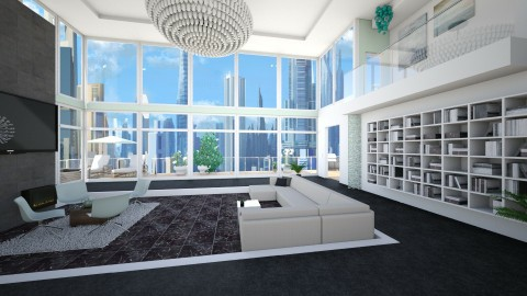 Unfinished - Modern - Living room - by Sophia Cooper