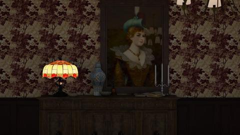 Portrait - Classic - Living room - by HenkRetro1960