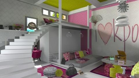 Korean Pop Culture - Bedroom - by myideas interiors