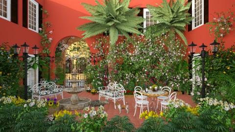 New Orleans Courtyard - Garden - by lydiaenderlebell