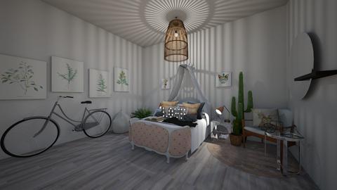 Bohemian Bedroom - Bedroom - by nicolaswiggins