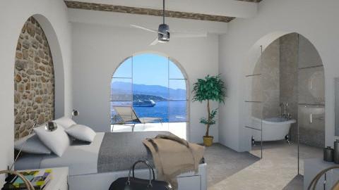 Hotel room in Mediterrane - Bedroom - by XValidze