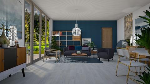 MADSEN template - Modern - Living room - by janip