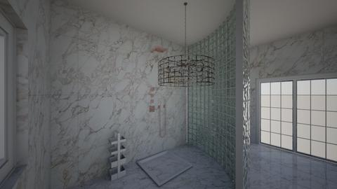modern bath - Bathroom - by Sevval Pehlivan