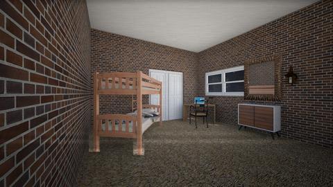 Rustic Room - Rustic - Bedroom - by gem27