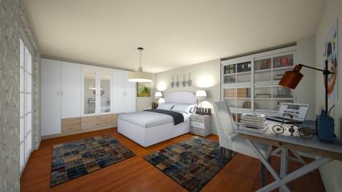 bedroom homeeee - Bedroom - by maria m