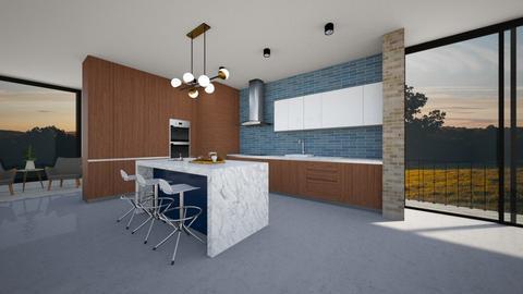 mcm kitchen 4 - by vee_la_ree