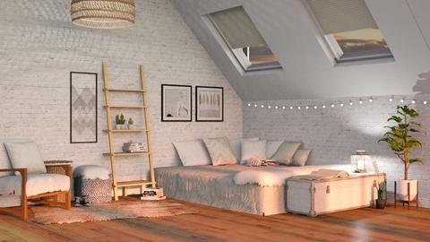 T Attic Apt - Bedroom - by Twilight Tiger