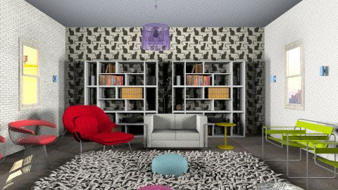 lounge - Eclectic - Office - by Code name