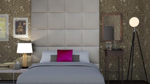 Ashfield - Bedroom - by The quiet designer