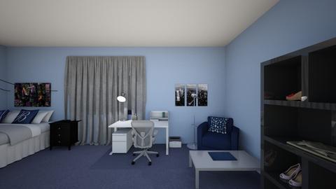Ajas Bedroom 1 - Masculine - Bedroom - by AJBax930