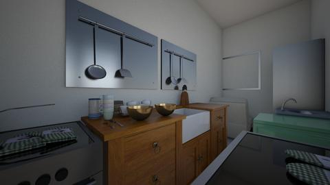 in the calZONE - Modern - Kitchen - by poppeteyt