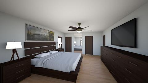 Master Bedroom - Modern - Bedroom - by ItsSebHdz