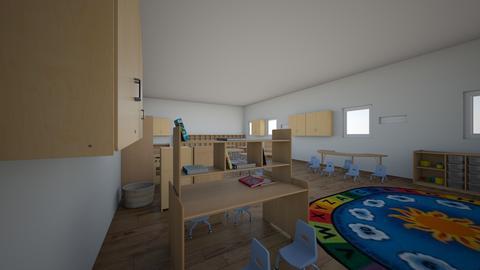 kinder classroom - by HACKLUQYDGWZXVRXEFRQPCCQMQVKBRP