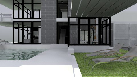 Modern house - Country - Garden - by saltlife4567