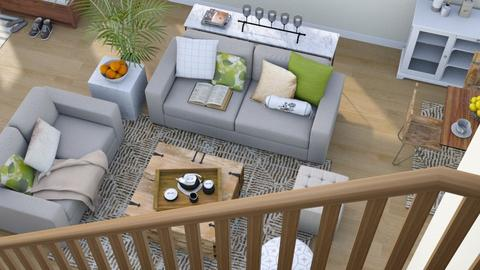 Above - Modern - Living room - by millerfam