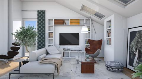 loft_anda - Living room - by Aeea P
