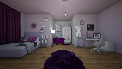 luxury collage room - Eclectic - Bedroom - by aryhah