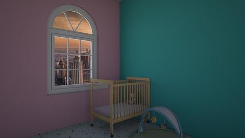 baby room - Classic - Kids room - by simonka25