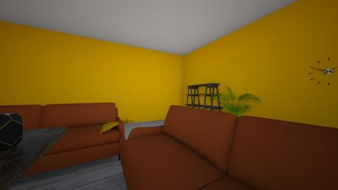 huis m en w - Living room - by Sterre_pinkster