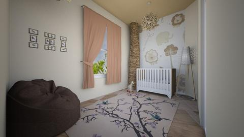 Newborn room - Rustic - Kids room - by MC Design