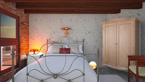 Feather - Feminine - Bedroom - by The quiet designer