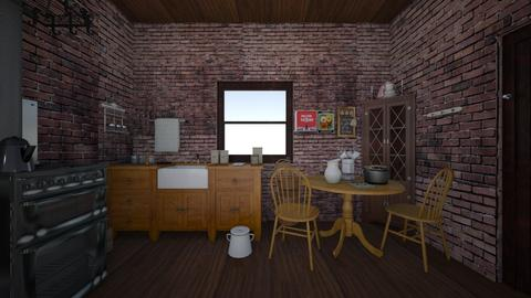 Secretary's Flat 1941 - Vintage - Bedroom - by PeculiarLeah