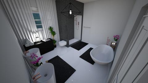 House C Bathroom - Kids room - by HeidiNel