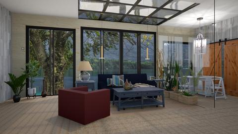 Skylight - Living room - by Wildflowers