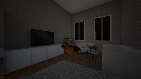 Petr pokoj - Bedroom - by Sebasty