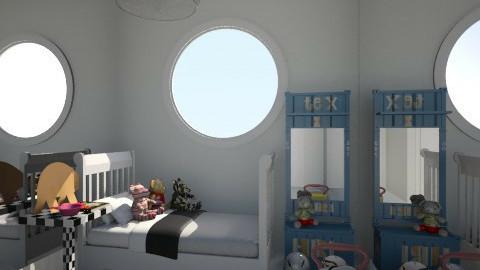 Nakagi Capsule Room 2 - Kids room - by Zozan Deryalar