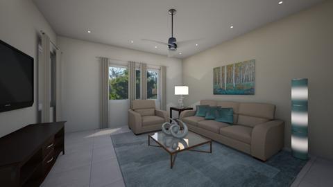 Calabria  Daisy de Arias - Masculine - Living room - by Daisy de Arias