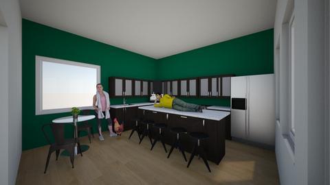 Dream Kitchen - Kitchen - by emannion
