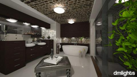 Mtn Cabin - Modern - Bathroom - by Lackew