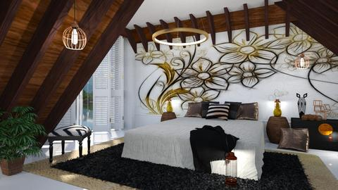 Mural bedroom - Modern - by sukica
