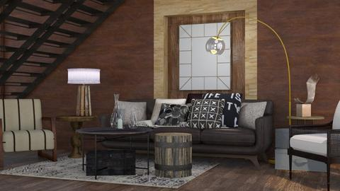 Rustic - Rustic - Living room - by Gurns