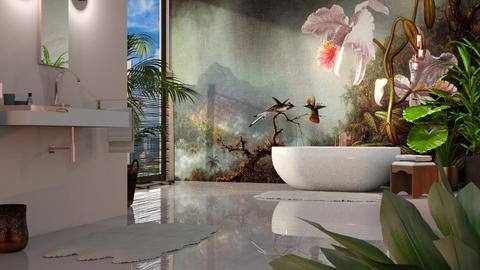 Martin Johnson Heade Urban Jungle Bath - Bathroom - by GraceKathryn
