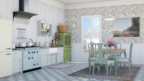 Shabby Chic Kitchen - Kitchen - by lovedsign