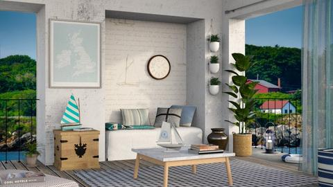 Nautical Home - Living room - by Sally Simpson