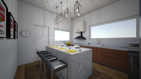 Kitchen Room - Modern - Kitchen - by mariac19611