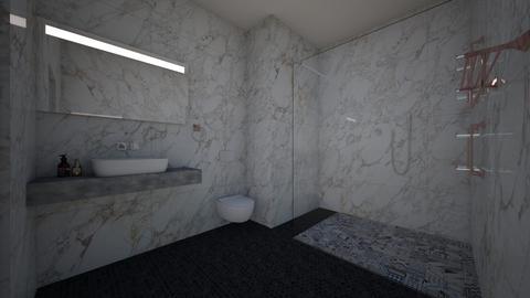 Marble Bathroom - Bathroom - by June Thomas