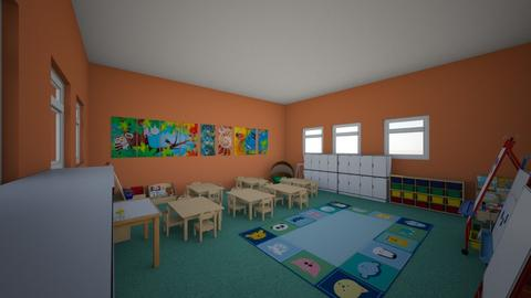 Primary School Classroom - Kids room - by Garfield isa cat